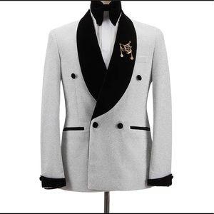 Men's white Tuxedo + Pants